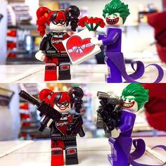 Make sure to get the perfect gift.  #valentines #happyvalentinesday #legobatman #batman #joker #harleyquinn