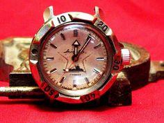 #VOSTOK #amphibian #commander for #men #star #ship #USSR (102) #Vostok #Casual