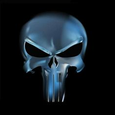 """My rendition of """"The Punisher"""" skull. I know the punisher skull is a widely used skull for different. Punisher Marvel, Punisher Logo, Punisher Skull, Marvel Vs, Marvel Dc Comics, Marvel Heroes, Daredevil, Comic Book Characters, Comic Character"""