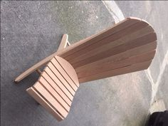 Adirondack Beach Chair W/ 2 Positions: 9 Steps (with Pictures) Plastic Patio Chairs, Wood Patio Chairs, Plastic Adirondack Chairs, Beach Chairs, Wooden Chairs, Outdoor Chairs, Dining Chairs, Toddler Table And Chairs, Toddler Chair