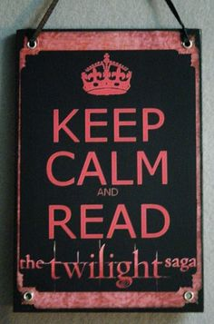 Keep Calm - Twi Saga plaque. $8.50, via Etsy.