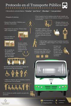 Protocolo en el tranporte público