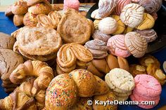 Pan Dulce ;) haha fat girl heaven. then off to the gym to burn a million calories.