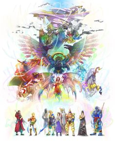 This is possibly the prettiest FFX artwork I have seen.