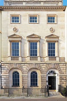 Elevation For A Projected Townhouse In Mayfair London - Beautiful georgian house in london