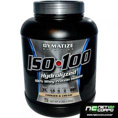 O produto ISO-100 da Dymatize é um suplemento alimentar de grande valor proteico. Trata-se de uma fórmula rica, na qual a parte mais nobre do leite é extraída, com o isolamento e hidrolização da proteína.