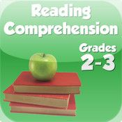 Reading Comprehension app for grades 1-3, read passages and answer questions