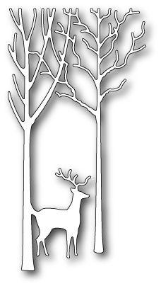 Memory Box Dies - Deer in the Trees - Scrapbooking Made Simple