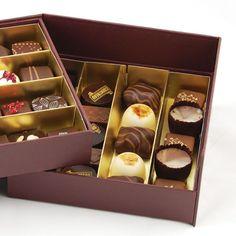 ¡Fantástica caja de 40 Bombones de chocolate! Ideal para regalar a alguien querido. Encuentra este producto de 'Quimcacau! en Loikos.
