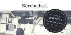Online Bürobedarf kaufen - alles fürs Büro. Schreibwarenartikel, Druckzubehör, Toner, Tinte, Papier und vieles mehr online erhältlich auf staples.de - Onlineshop für Büroartikel jetzt mit 40% Rabatt Gutschein: CB9998766