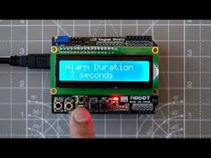 Arduino LCD Shield menu library that is memory efficient (uses PROGMEM) and easy to use, thanks to online code generator. Tested to work with Uno/Leonardo. Lcd Keypad Shield, Arduino Lcd, Arduino Projects, Montage, Projects To Try, Geek Stuff, Menu, Coding, Display