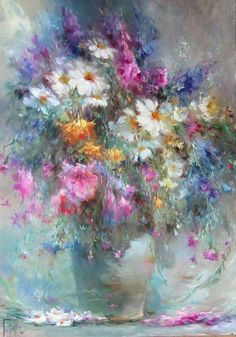 Beautiful flower painting