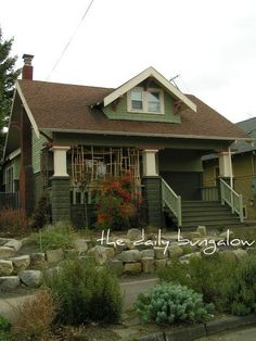 pinterest craftsman style homes | Craftsman Style Homes & Decor / Bungalow - SE Portland, Hawthorne ...