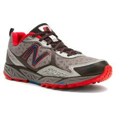Mens New Balance Shoes MT910 Red Silver