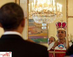 Barack's magic mirror