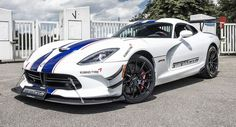 GeigerCars has unveiled its even more insane variant of the Dodge Viper ACR! My Dream Car, Dream Cars, New Dodge Viper, Veneno Roadster, Viper Acr, Exotic Sports Cars, Exotic Cars, Maserati Granturismo, American Muscle Cars