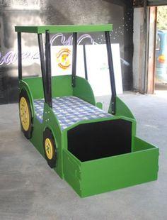 Pin John Deere Tractor Bunk Bed