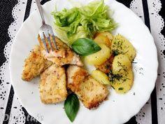 Di gotuje: Pstrąg tęczowy łososiowy smażony na maśle (płaty)