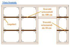 Istallazione #travetti orizzontali