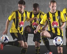 72d72f194 football shirts · Nice Day Sports  Wellington Phoenix 2014-15 adidas Home