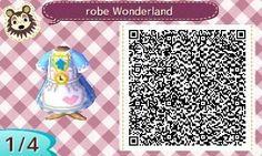 Le petit monde de Chanel animal crossing new leaf qr code acnl Alice in wonderland
