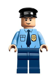 lego police minifigures | Security gate measures over 5″ (12cm) high and 9″ (24cm) wide