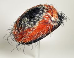Woman's hat | United States, 1915 | Materials: velvet, ostrich feathers | Los Angeles County Museum of Art, LACMA