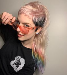 Mullet Haircut, Mullet Hairstyle, Pelo Guay, Pelo Rasta, Undercut Long Hair, Hair Inspiration, Hair Inspo, Edgy Hair, Alternative Hair