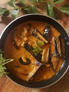 Indian Recipes Kashmiri Dahi Baingan - My Dainty Kitchen Curry Recipes, Vegetable Recipes, Vegetarian Recipes, Cooking Recipes, Aloo Recipes, Vegetable Curry, Spicy Recipes, What's Cooking, Cake Recipes