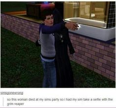 Sims gone wrong.