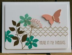 Stampin Up Summer Silhouettes Thoughts 1