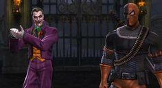 Joker and Deathstroke