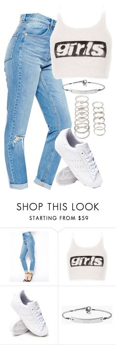 """""""Untitled #5210"""" by angela379 ❤ liked on Polyvore featuring ASOS, Alexander Wang, adidas, MICHAEL Michael Kors and Forever 21"""