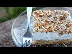 Μαμαδίστικο Οικονομικό Γλυκάκι (Νηστίσιμο) - Amazing Vegan Dessert - YouTube Greek Sweets, Vegan Dessert Recipes, Greek Recipes, Food Styling, Feta, Food And Drink, Pudding, Cheese, Easy