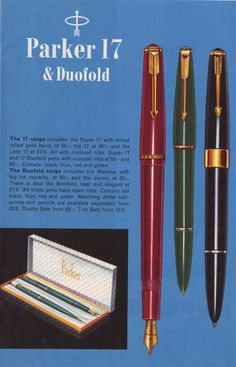 Vintage Pens Research Identification Sites