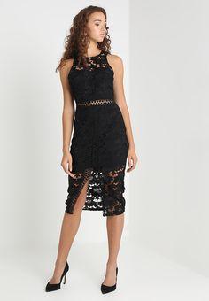 e3e1e0d79c EDEN KNEE LENGTH DRESS - Cocktailkleid/festliches Kleid - black @  Zalando.de 🛒