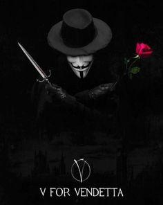 """""""V for Vendetta"""" V For Vendetta Wallpapers, V For Vendetta Tattoo, Rorschach Art, V Pour Vendetta, The Fifth Of November, Guy Fawkes, Sundance Film, Fandoms, Movie Tv"""