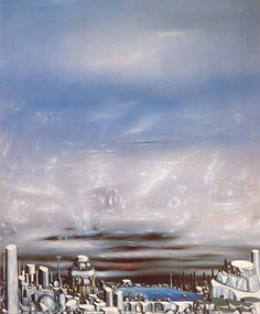 art gallery for French century artist Yves Tanguy Yves Tanguy, Cesar Santos, Miro, Rene Magritte, Surrealism Painting, Weird Pictures, Paintings I Love, Cubism, Types Of Art