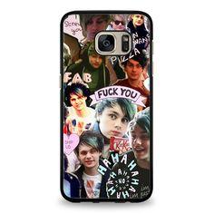 Michael Clifford Samsung Galaxy S6 Edge Case | yukitacase.com