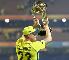 Clarke gets emotional after World Cup win