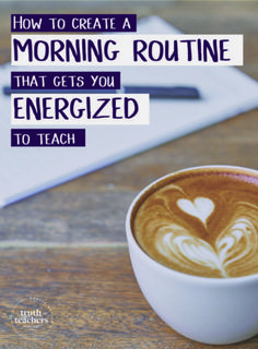 Morning routine for teachers: Just how important is it? In this post, I'm sharing tips for how you can create a routine for yourself that leaves you energized for the rest of the day! Classroom Routines, Classroom Procedures, Classroom Management, Classroom Ideas, Future Classroom, First Year Teachers, New Teachers, Music Teachers, Music Class