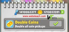 Get Free Subway Surfers Unlimited Coins and Keys Free of Cost - http://www.websteach.com/get-free-subway-surfers-unlimited-coins-and-keys-free-of-cost/ Get Free Subway Surfers Unlimited Coins and Keys Free of Cost Hello Guys Huge numbers of people play this game just for fun because this game is everlasting and also the more you decide to go further the greater you like it. But incidents occur every 3-4 minutes You Receive Bumped, it might be a ... #CoinsAndKeysFree, #Fre