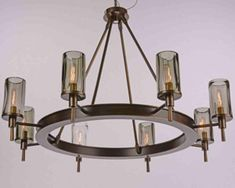 FIAMMI Chandelier at LuxeLightandHome.com