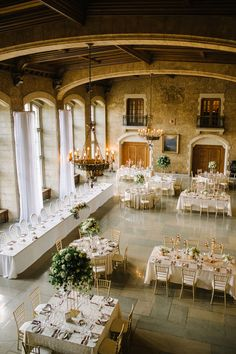 Mixed tables for wedding reception at Banff Springs Hotel Forest Wedding, Dream Wedding, Ballroom Wedding, Wedding Reception, Fairmont Banff Springs, Hotel Wedding Venues, Wedding Types, Fairmont Hotel, Spring Wedding