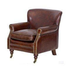 Muggleswick Leather Armchair