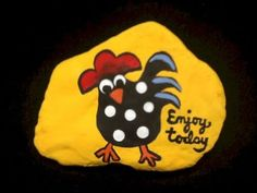 50 easy diy chicken painted rocks ideas I don't know why this was suggested to me but I almost HAVE to pin it just because it's freaking hilarious