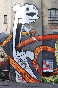 Hamburg, Gängeviertel - Street Art AweR