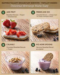 biscuits & yogurt