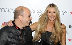 John Varvatos and Elle Macpherson attend the 'Fashion Star' celebration at Macy's Herald Square on March 13 2012 in New York City