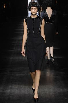 Lanvin Fall 2007 Ready-to-Wear Fashion Show - Bette Franke